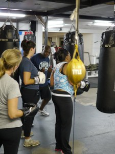 Kickboxing Classes Portland-Curtis Crawford