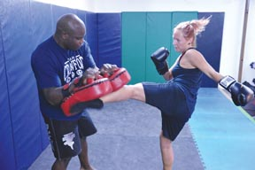 Personal Trainer Portland-Kickboxing Class Portland-Curtis Crawford